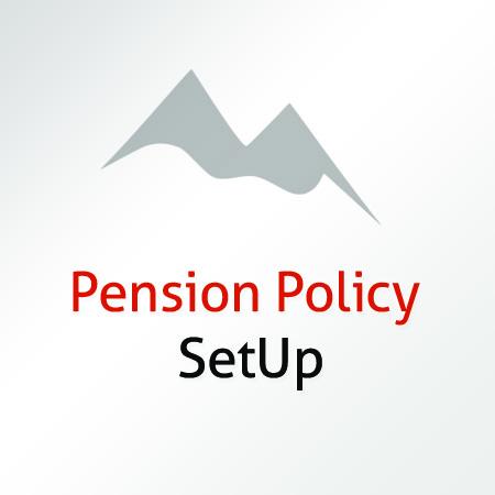 Pension Policy Setup